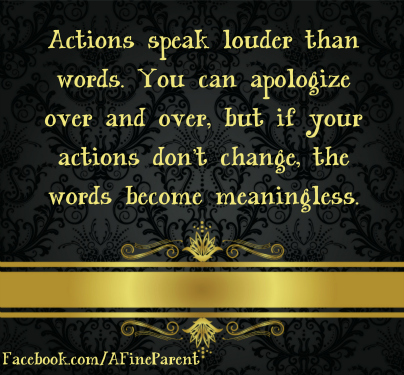 "Short Essay on ""Action Speaks Louder Than Words"""