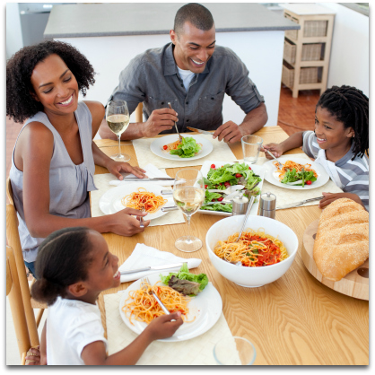 Eating Healthier - Family Dinners are Important