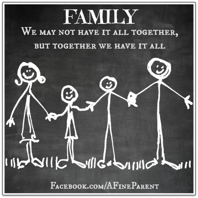 Family Bonding Activities: Quote About Families
