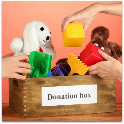 Clutter Free Home Donate Unused Toys