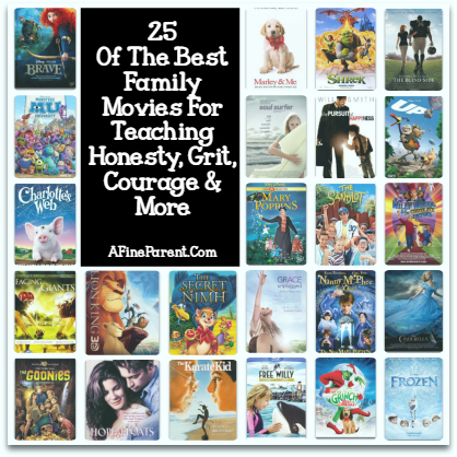 Best Family Movies - Main Poster Collage