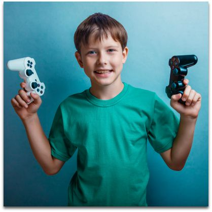 Kids Playing Video Games - It is fun for them
