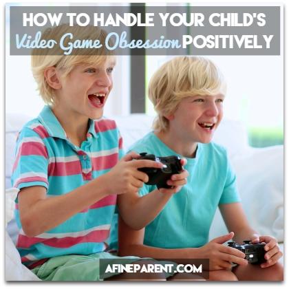 Kids Playing Video Games - Main Poster