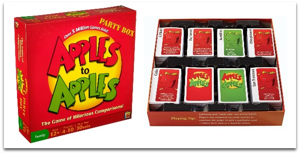 Learning Games for Kids in High School - Apples to Apples