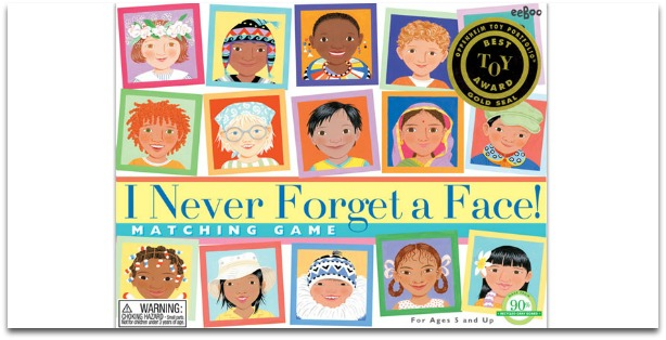Learning Games for Kids in Preschool - I Never Forget a Face