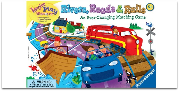 Learning Games for Kids in Preschool - Rivers, Roads, and Rails