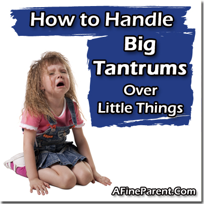 How to Handle Temper Tantrums - Main Image
